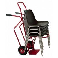 Diable porte chaises empilables 250 kg