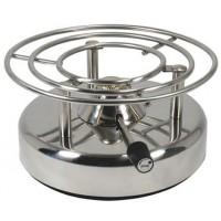 Réchaud de table inox LONGFIRE diamètre 200 mm