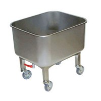 Cuve roulante inox alimentaire