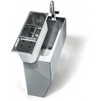 VPAC coffrage inox pour VPCARENATO robinet avec levier inclus
