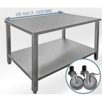 Tables de services inox 304