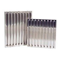 Filtre à labyrinthe pour hotte - inox - 450x450 (LxH)