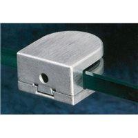 Support de verre AISI316 - 8 mm - montage plat