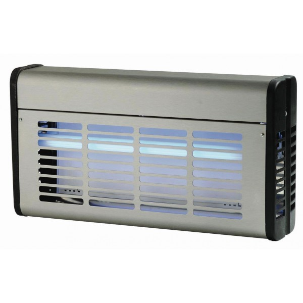 D sinsectiseur plaque adh sive inox 30 w for Plaque inox adhesive