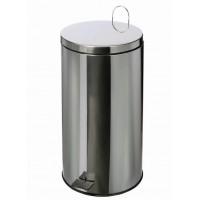 Poubelle inox 430 brillant de 40 litres