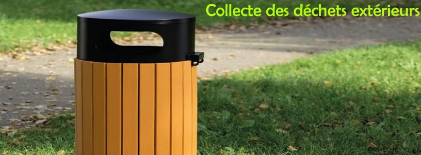 Collecte des déchets extérieurs
