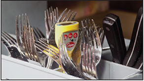 Thermomètre de poche étanche pour lave-vaisselle