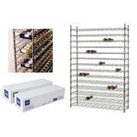 Colonne de stockage 14 niveaux - 168 bouteilles