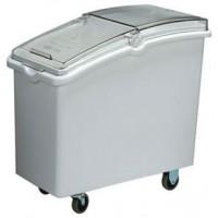 Bac de stockage alimentaire 100 litres sur roues