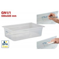 Bacs GN1/1 pour stockage alimentaire 530 x 325 mm