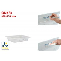 Bacs GN1/3 pour stockage alimentaire 325 x 176 mm