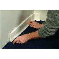 Plinthe polyester béton RAL9002 - L1m