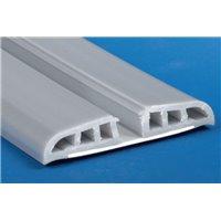 Profil de base pour pare-chocs flexible - RAL9006 - L4m