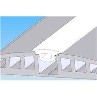 Profil pare-chocs - blanc RAL9010 - L 4m