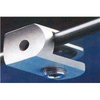 Support de verre AISI316 - tube Ø. 30 mm