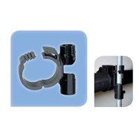 """Collier plastique pour tube 3/4"""" - Rdp20 fixation M8 - 1 pce 1 emballage"""