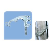 Collier plastique pour tube Ø32 & Ø25 mm fixation directe - Par Piece