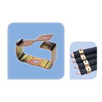 """Collier en métal 80X46 mm -5/8"""" - 1 1/8"""" fixation directe - 1 pce 1 emballage"""