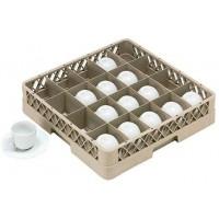 Casier lave-vaisselle pour tasses 20 compartiments