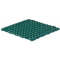 Caillebotis antidérapant 600x600 mm vert