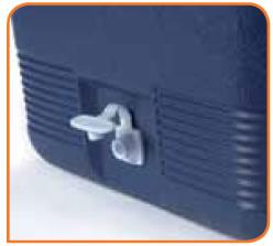 Vidange du conteneur isotherme intégrée