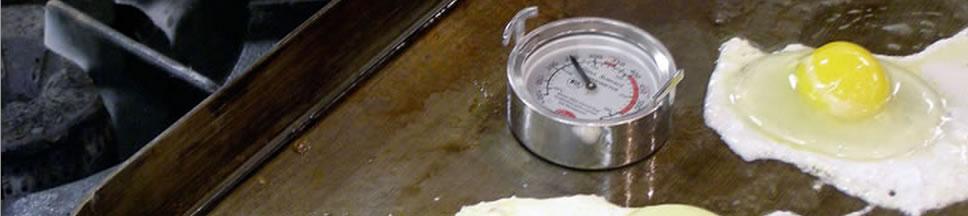 Thermomètre de surface pour contrôle des température d'un grill